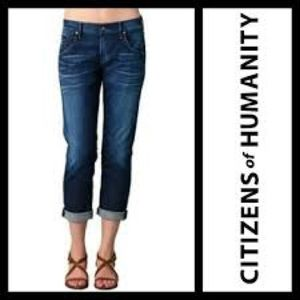 Citizens of Humanity Dylan Drop Rise Crop Jean 26
